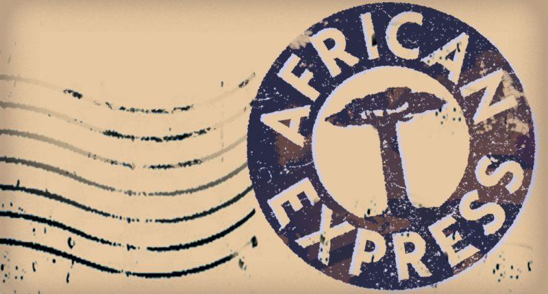 African Express Label Artwork