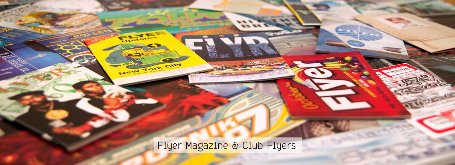 Flyer Magazine & Club Flyers