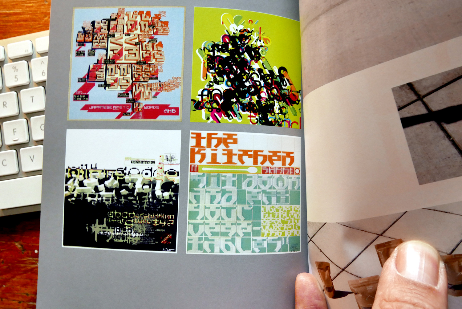 Featured in the Society of Typographic Arts (Chicago)' book of excellence